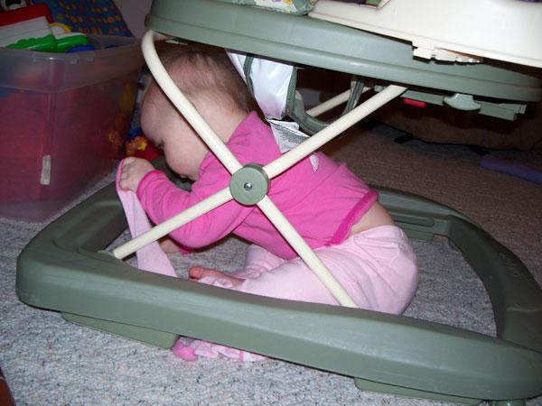 under the walker